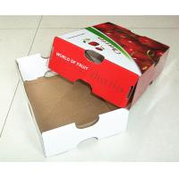 Wholesale custom corrugated paper fruit box from china suppliers
