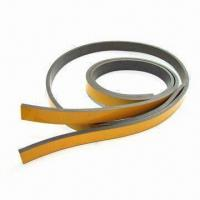 Buy cheap Flexible Magnetic Strips for Fridge Doors with One Side Multipole, Mark on Non-magnetized Surface from wholesalers