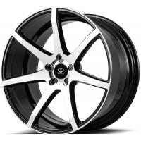 Buy cheap Custom Gloss Black Machined  20inch 1-piece Forged  Rims For Audi RS7 Car Rims from wholesalers