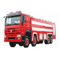 Buy cheap Sinotruk HOWO 8x4 Fire Fighting Truck 20m3 Foam And Water Real Fire Trucks from wholesalers
