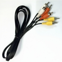 Buy cheap 3RCA-3RCA Male AV Cable Video and Audio Data Communication Cable 1.5meter from wholesalers