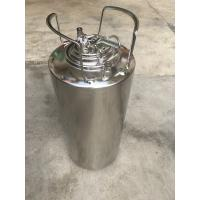 Buy cheap Home Brew Beer 5 Gallon Cornelius Keg With Logo Printing from wholesalers