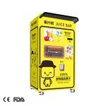 Buy cheap shopping center white VA1 oranges juice vending machine from wholesalers