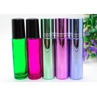 Buy cheap  Perfume Empty Roll On Bottle 10ml Amber Glass With Metal Roller Ball from wholesalers
