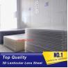 Buy cheap 120x240cm PS rigid sheet 30LPI lens for Inkjet Printing 3D lenticular billboard from wholesalers