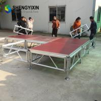 Buy cheap colorful outdoor concert /Party aluminum stage design,aluminium stage from wholesalers