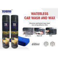 Wholesale Waterless Wash & Wax Vehicle Exterior Surfaces Use With Streak Free Shine from china suppliers