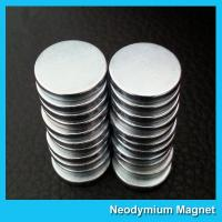 Buy cheap Strong Disc NdFeB Rare Earth Neodymium Magnets 10mm X 1mm Custom Shaped from wholesalers