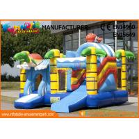 Wholesale Commercial 0.55mm Vinyl Inflatable Bouncer Slide Fire Retardant And Water - Proof from china suppliers