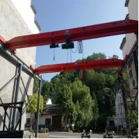 Wholesale Mingdao Crane Brand 5t 10t Hoist Model Single Girder Overhead Bridge Crane from china suppliers