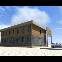 Buy cheap Prefabricated Commercial Steel Buildings For Hotel / Motel Residential from wholesalers