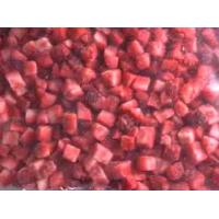 Buy cheap Frozen/IQF Strawberry diced from wholesalers