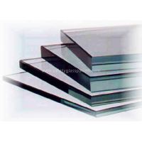 Buy cheap Curve Coated 10mm Clear Float Glass Low Iron For Coffee Table / Restaurant product