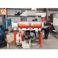 Buy cheap Customized Voltage Pellet Making Machine / Poultry Feed Pellet Mill Machine from wholesalers