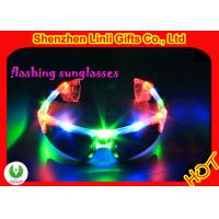 Flashing toys LED men design LED flash sunglasses from Linli for Christmas party FA12098 Manufactures