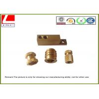 Computer Numerical Control CNC Machining Metal Parts Brass shaft Manufactures