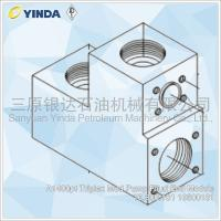 Wholesale A1400pt Triplex Mud Pump Fliud End Module 10.300.181 10300181 Forged Alloy Steel from china suppliers