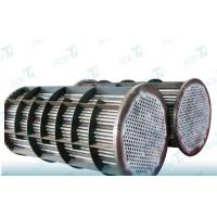 China GR2 Astm b338 Titanium welded pipe for heat exchanger equipments on sale