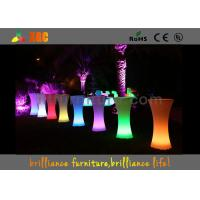 Buy cheap Coffee Ship LED Cocktail Table Bar Furniture With 16 Colors Changeable from wholesalers