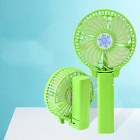 Buy cheap USB Mini Handheld Fan Foldable Portable Desk Desktop Cooling Fan rechargeable from wholesalers