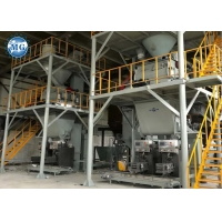 Buy cheap 10T/H PLC Putty Dry Mortar Production Line For Cement Sand Mixing from wholesalers