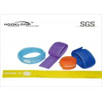 Buy cheap Coloured Hook And Loop Cable Ties Elastic Adjustable Strap 0.75 Inch from wholesalers