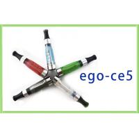2.4ml Green EGO CE5 E-Cigarette 900 Puffs 650mAh With 130mm Length Manufactures