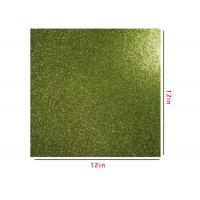 300g Green Glitter Paper , Scrapbooking Double Sided Glitter Cardstock