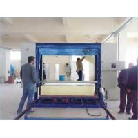 Customized Horizontal Foam Sponge Cutting Machine With Transducer , 8.14KW Manufactures
