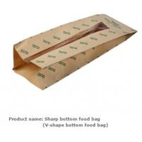 Buy cheap Sandwich & bread bag, Sandwich paper bag, Pastry packing paper bag,  French bread bag,  Bread packing bag,  Bread stick from wholesalers
