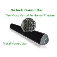 34 Inch Wireless Stereo Bluetooth Speaker Bar With Subwoofer CE FCC ROHS UL