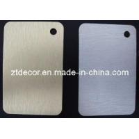 Buy cheap Metallic HPL Sheet / Formica from wholesalers
