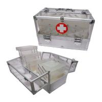 Wholesale Arylic First Aid Kits Medical Devices Carrying Storage Case Aluminum Frame from china suppliers