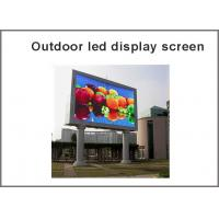 Buy cheap Outdoor RGB P10 LED display module Full Color panel led display screen led dot matrix from wholesalers