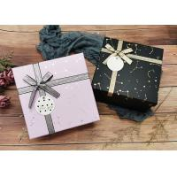 Buy cheap Constellation Printing Gift and Shopping Boxes With Shiny Belt from wholesalers