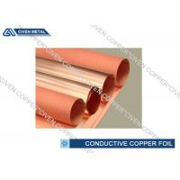 Buy cheap Single - Shiny High Conductive ED Copper Foil c11000 , C10200 Grade from wholesalers