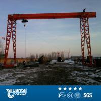Buy cheap Yuantai Top Quality Widely Used Mh Truss Electric Hoist Gantry Crane from wholesalers