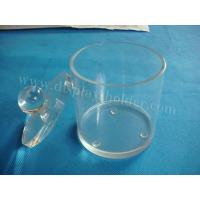 Buy cheap Acrylic Food Containers in Round Shape from wholesalers