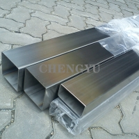 Buy cheap 310S 904L Stainless Steel Square Pipe Brush Polish Seamless Square Tube AISI from wholesalers