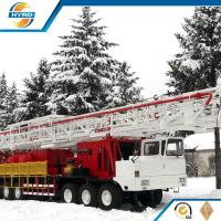 Professional Onshore Oil Well Workover Oil Rig Truck Mounted Without Guyline Manufactures