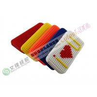 Wholesale Non-toxic iPhone 5 Silicone Cases with Lego Blocks Mini DIY Puzzle Suitable for Business from china suppliers