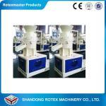 Buy cheap ROTEX MASTER flat die Wood Pellet Machine / saw dust pellet making machine from wholesalers