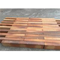 Buy cheap High Strength Solid Clay Bricks , Perforated Brick Wall For Contribution Size 500 x 90 x 40 mm from wholesalers