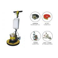 Multifunction Handheld Single Disc Floor Scrubber / wooden , tile , granite floor grinder Manufactures