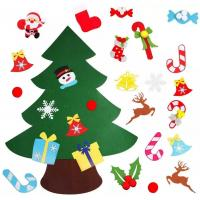 Buy cheap DIY Felt Christmas Hand Crafts Tree Sets Ornament Decoration Multi - Color Choice from wholesalers