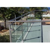 Buy cheap Cheap Design Balcony stainless steel glass balustrade prices from wholesalers