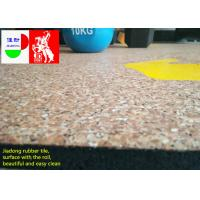 Buy cheap Fitness Center Interlocking Rubber Floor Tiles , Industrial Rubber Matting Roll from wholesalers