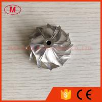 Buy cheap K04 38.35/52.19mm 6+6 blades high performance turbocharger milling/aluminum 2618 /billet compressor wheel from wholesalers