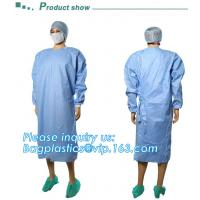 Buy cheap Sterile Disposable Surgical Gown,Long sleeves disposable hospital isolation gowns,Manufacturer Supplier surgical gown ma from wholesalers