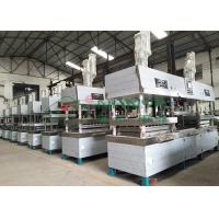 Buy cheap Semi-automated Pulp Molded Food Grade Tableware / Dinnerware Forming Machine from wholesalers